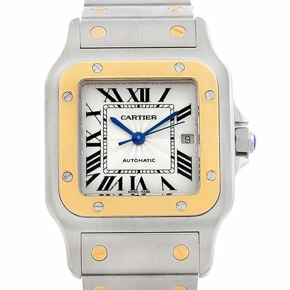 Cartier Santos galbee Automatic-Self-Wind Womens Watch w20058 C4 (Certificado) de Segunda Mano: Cartier: Amazon.es: Relojes