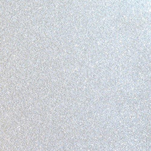 Silver Glitter Vinyl 12