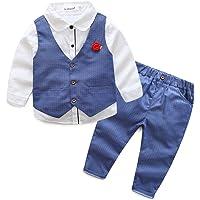 cf40f13598 Kinder Baby Kleinkind Jungen Kleider Coat Kleidung Gentleman Baumwolle mit  Ärmeln Herbst Kleidung des Babys Taufe