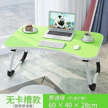 Mesa de Cama Ajustable Simple Dormitorio Plegable Estudio Cama ...