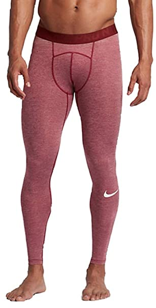 Nike Mens HyperCool Compression Tight (SM 27, Team Red/Gym Red/White