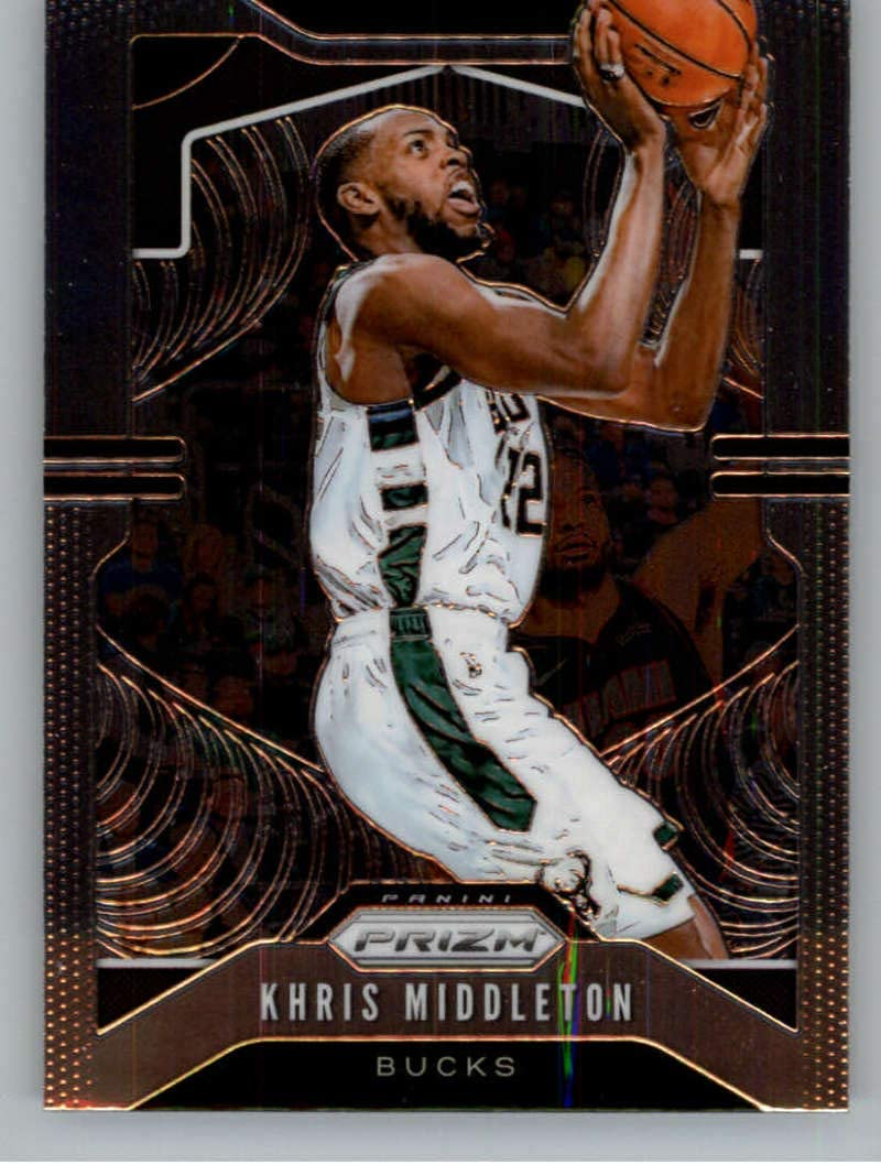 2019-20 Prizm NBA #235 Khris Middleton ...