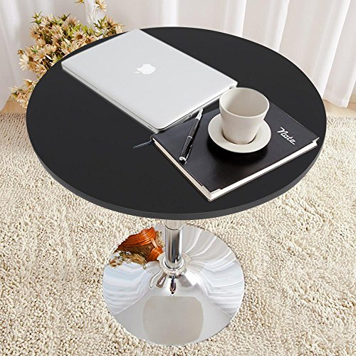 Topeakmart Round Pub Table Bar Height Chairs Height