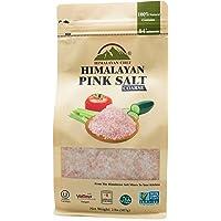喜马拉雅厨师粗喜喜马拉雅粉盐袋,2 磅,味道令人难以置信,丰富的营养和矿物质,提升您的*,今天就添加到您的购物车中