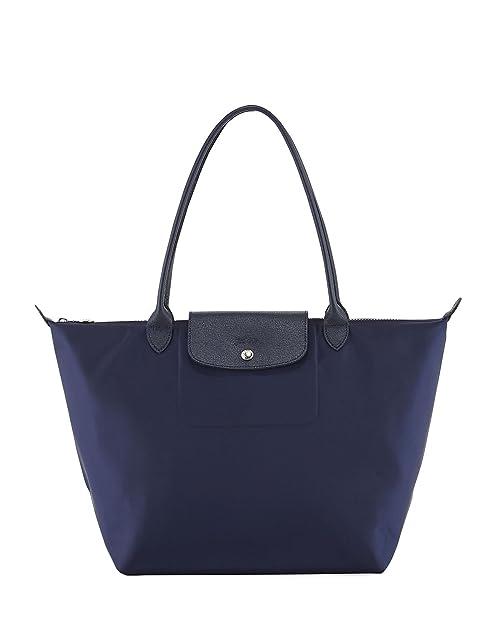 b00f71b45c9e Amazon.com  Longchamp  Large Le Pliage Neo  Nylon Tote Shoulder Bag ...