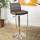 Cheap In the Mix Zolo Brown Adjustable Height Swivel Stool