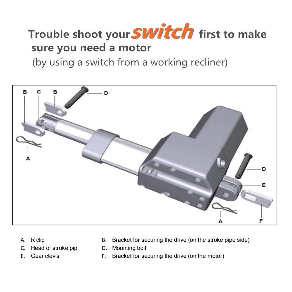 Amazon.com: Okin DeltaDrive Motor Actuador lineal para ...
