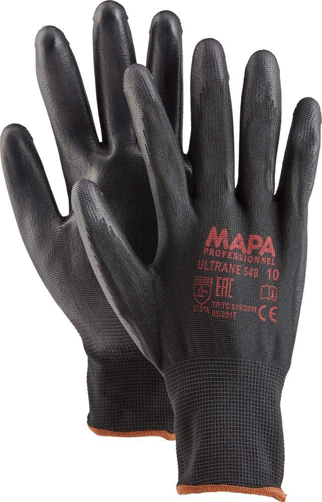 confezione da 2 nero /0/7/guanti protettivi Mapa Professional Ultrane 40510/ /548/