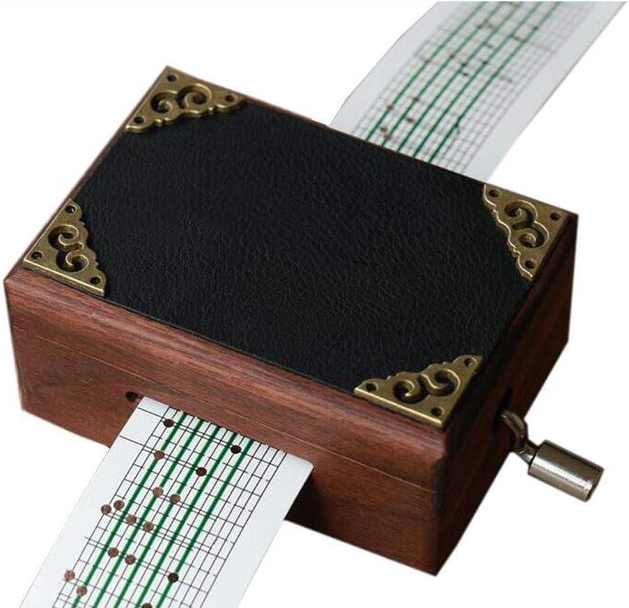 cuzit antiguo vintage de madera espejo caja de música caja Musical ...