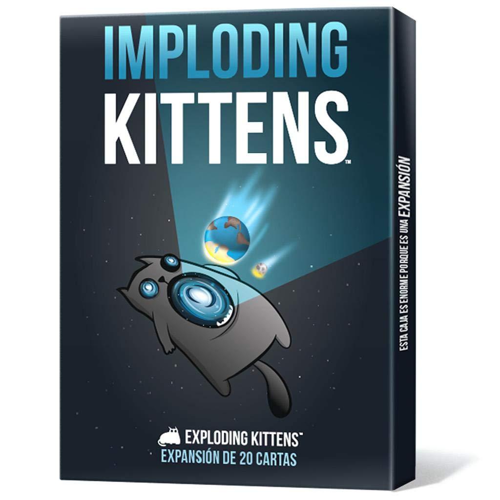 EKEK03ES Imploding Kittens Asmodee