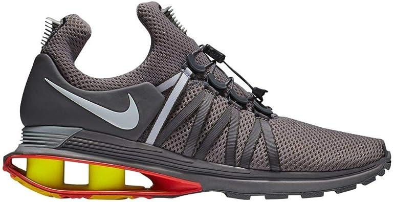 corrupción Condicional Península  Amazon.com: Nike Shox Gravity - Zapatos de correr para hombre, Rojo, 10:  Shoes