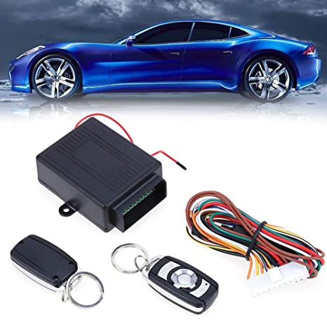 Amazon.com: Car Alarm Systems Auto Remote Central Kit Door ...