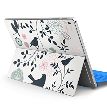 2018 igsticker Ultra Thin 3M Premium Protective Back & Side Body Stickers Skins Universal Tablet Decal Cover for Microsoft Surface Pro 4/ Pro 2017/ Pro 6 009593