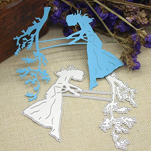 2019 Newest Delicacy Metal Die Cutting Dies Handmade Stencils Template Embossing for Card Scrapbooking Craft Paper Decor by E-Scenery (H)
