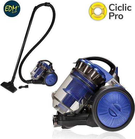 ASPIRADOR MULTI-CICLONICA CLASE A ENERGIA GRANDE EDM 700W 2,5L: Amazon.es: Hogar
