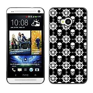 ZECASE Funda Carcasa Tapa Case Cover Para HTC One M7 No.0002236