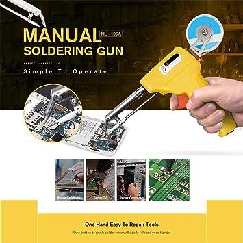 TAOtTAO - Herramienta manual de soldadura para mejorar la estructura de la tabla de reparación de estaño, amarillo: Amazon.es: Bricolaje y herramientas