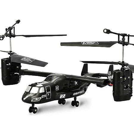 Alta de la simulación de control remoto helicóptero Osprey 2.4G 4 ...