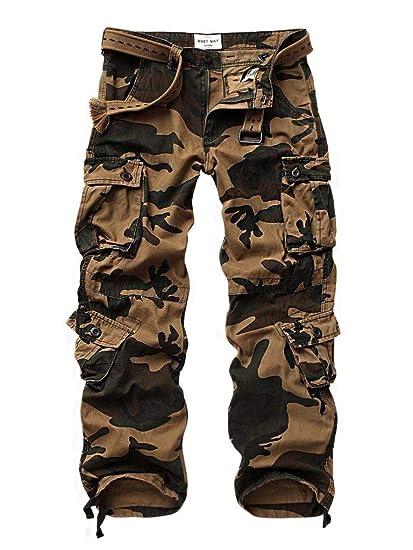 8d66c3f7e788e MUST WAY Pantalon - Cargo - Homme: Amazon.fr: Vêtements et accessoires
