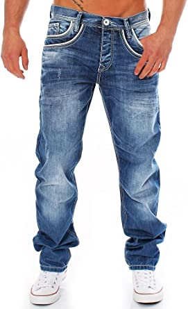 TALLA 30W / 32L. Cipo & Baxx Hombre Jeans C de 1N127