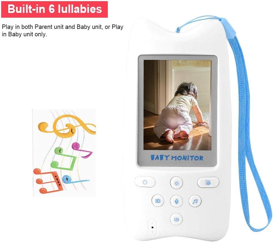 Monitor de c/ámara para beb/és monitor de video inal/ámbrico digital de 2.4para beb/és con c/ámara digital monitor de beb/é con c/ámara de audio y video de visi/ón nocturna LED de conversaci/ón