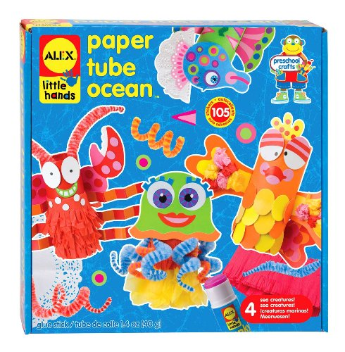 ALEX Toys Little Hands Paper Tube Ocean ()
