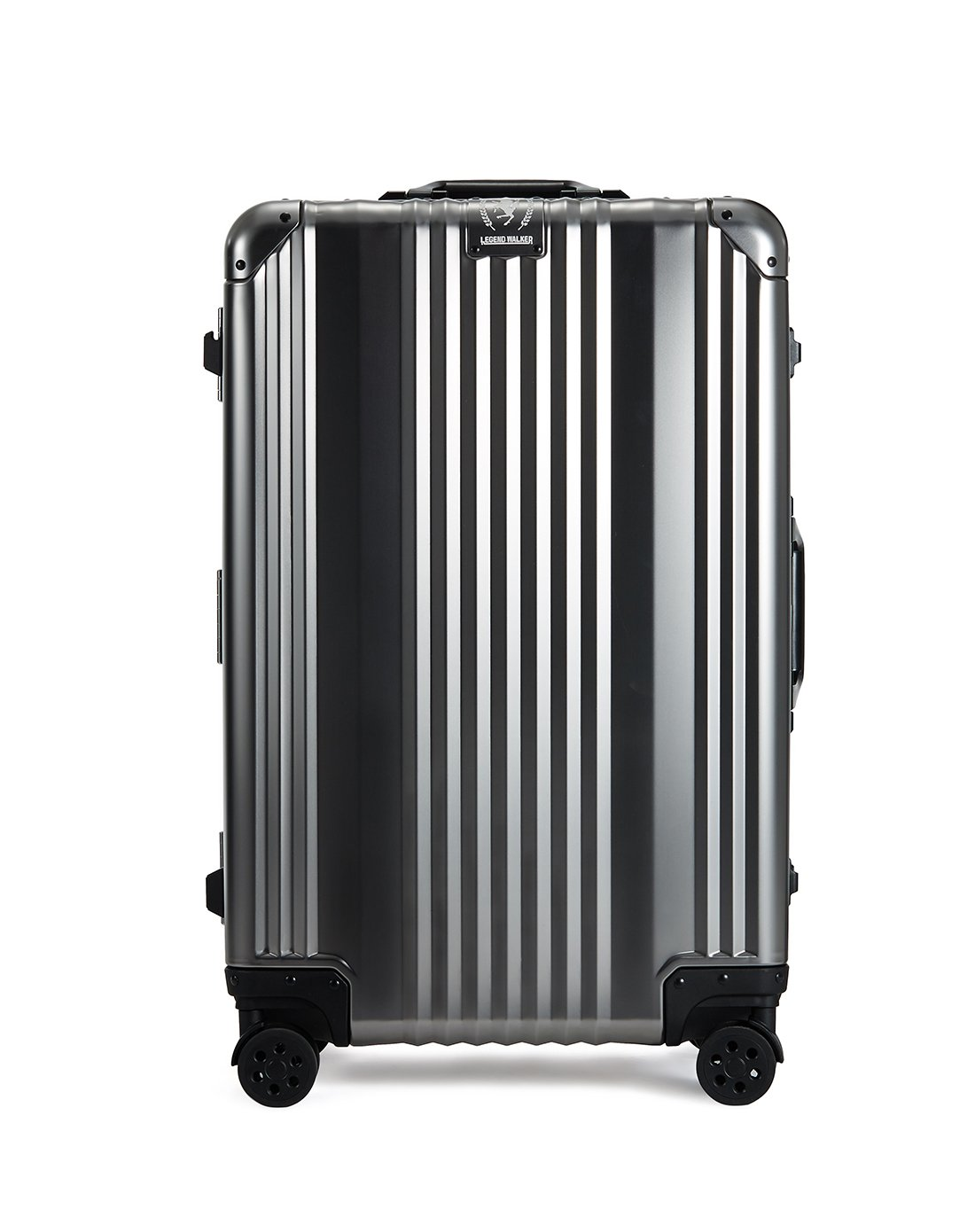 [レジェンドウォーカー] スーツケース 機内持込可 保証付 36L 48cm 4kg 1510-48 B071J5D2KJ ガンメタ ガンメタ