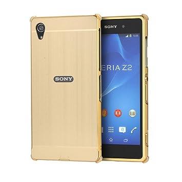 zl one Carcasa para Sony Xperia Z2 SO-03F Funda Aluminio ...