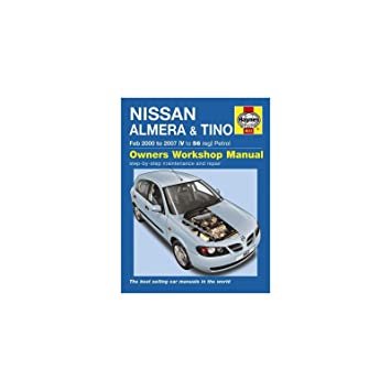 haynes car owners workshop handbook manual nissan almera tino petrol rh amazon co uk haynes manual nissan almera tino Nissan Almera High-Spec