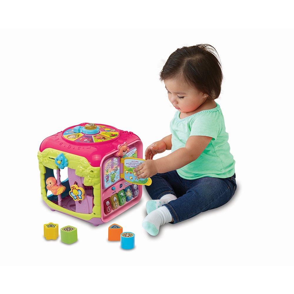 183455 VTech Rose Super Cube de D/écouverte