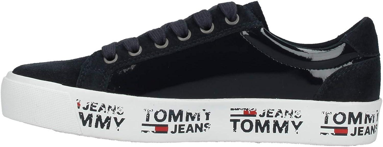 Tommy Hilfiger, Sneakers pour Femme Noir