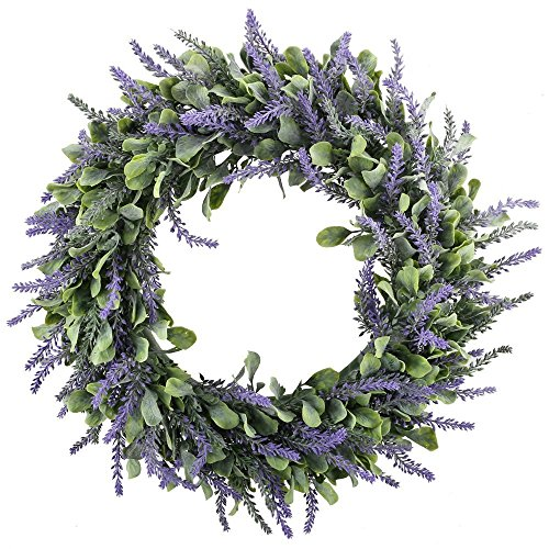 "Floristry 14"" Artificial Lavender Wreaths Flowers"