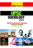 UPSC IAS Mains : Sociology Categorised Papers 2015