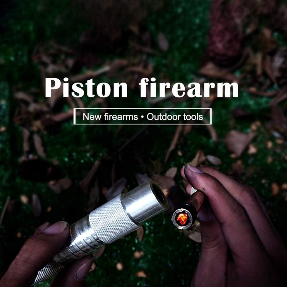 Bebliss Umbrella Rope Piston Ignition Device Conjunto de encendedor de compresi/ón de aire port/átil