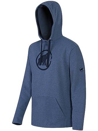 edee2e26704a Mammut Herren Sweatshirt Logo ML Hoodied  Amazon.de  Bekleidung