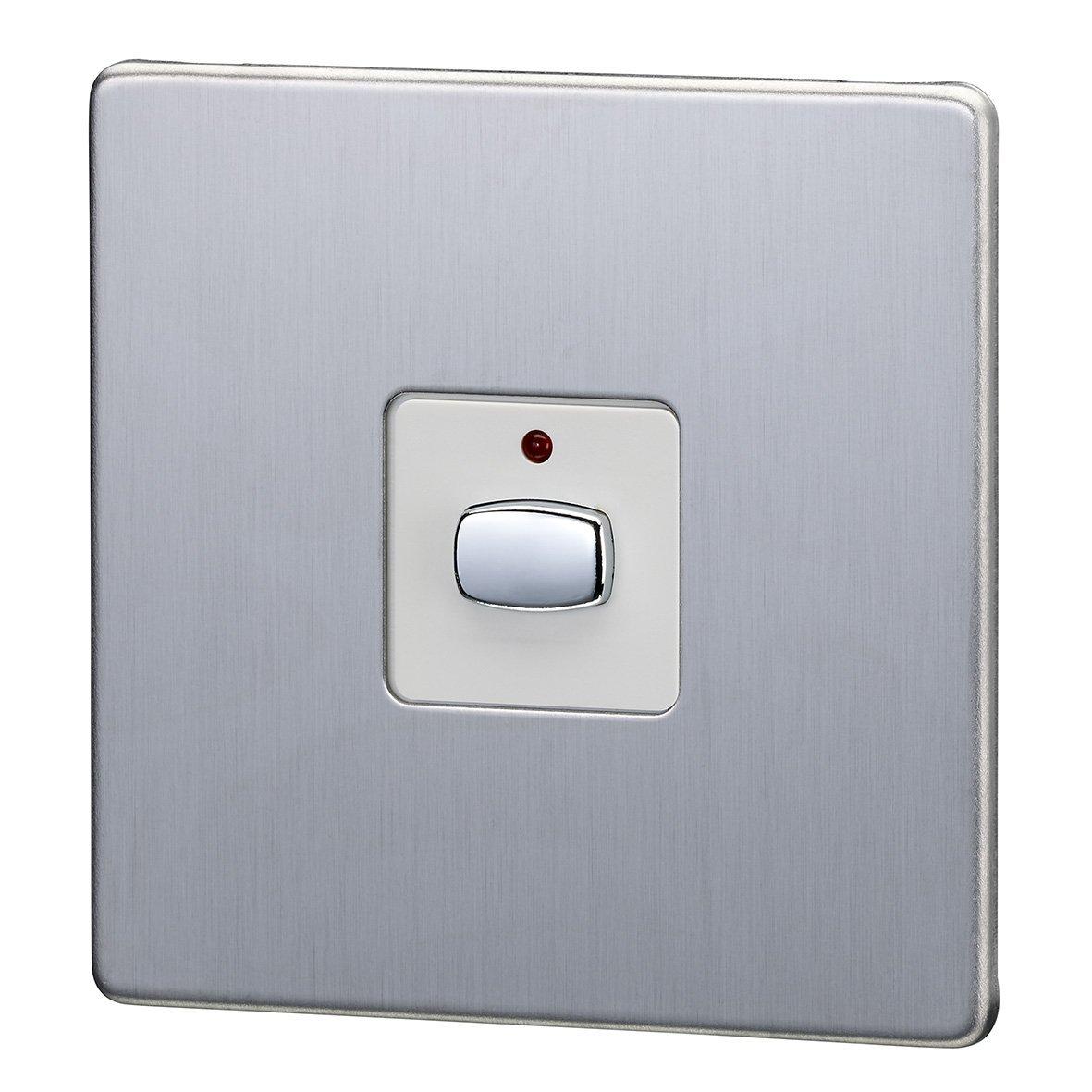 Energenie MIHO026 Mi|Home Smart Single Light Switch (Steel): Amazon ...
