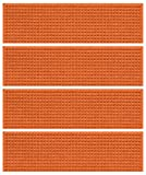 Waterguard Squares Stair Treads, Orange, Set of 4