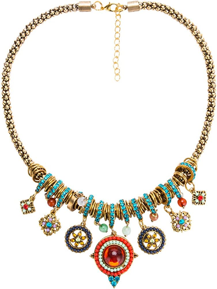 BAFOME Statement Necklace...
