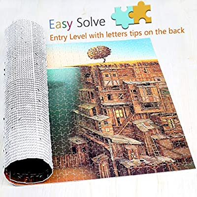 Jigsaw Puzzle-Imagination Series- an Angler- IG-0516 Puzzle 1000 Pieces for Adult Entertainment Recyclable Materials Plastic Puzzles Toys: Toys & Games
