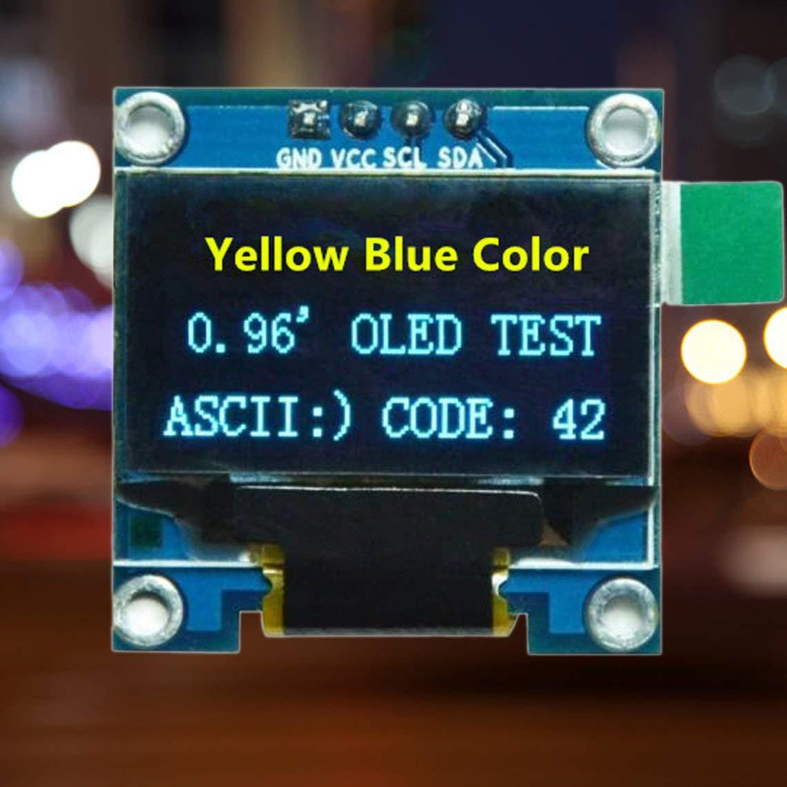 0.96 I2c IIC Serial Oled LCD LED Module 128X64 for Arduino Display Raspberry