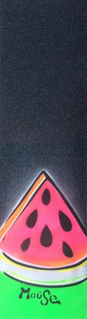 メロンmoüseスケートボードグリップテープシートブラック9