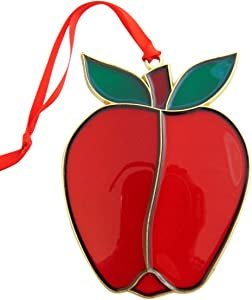 Westmon Works Apple Teacher Appreciation Christmas Ornament Decoration, 4 1/2 Inch