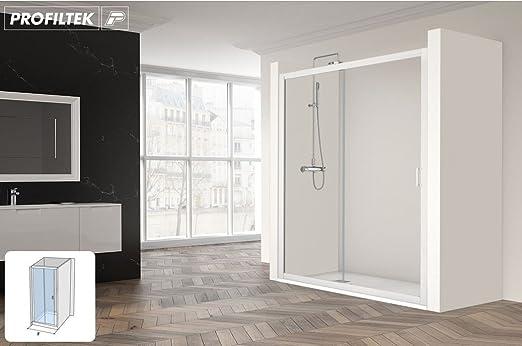 Mampara de ducha corredera Spring en nicho un panel japonés y un ...