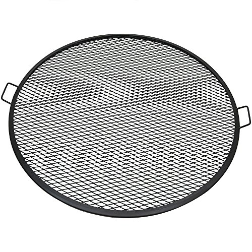 - Sunnydaze Decor Fire Pit Cooking Grill, X-Marks BBQ Grate,Black,40 Inch