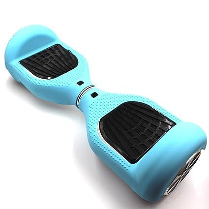 Funda de silicona de WheelElite para patinetes eléctricos de 16,5 cm, protector de arañazos, envoltura cubierta de goma, para patinetes de 2 ruedas