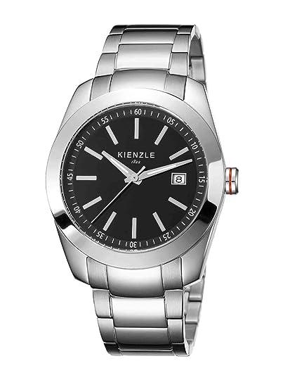 Kienzle K3011013042-00005 - Reloj analógico de cuarzo para hombre con correa de acero inoxidable