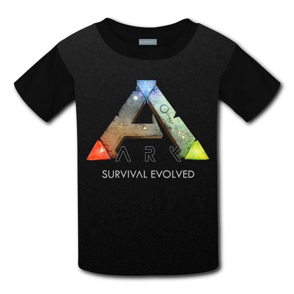 YLJIA Unisex Kids Ark Survival Evolved Round Collar Short Sleeve T Shirt