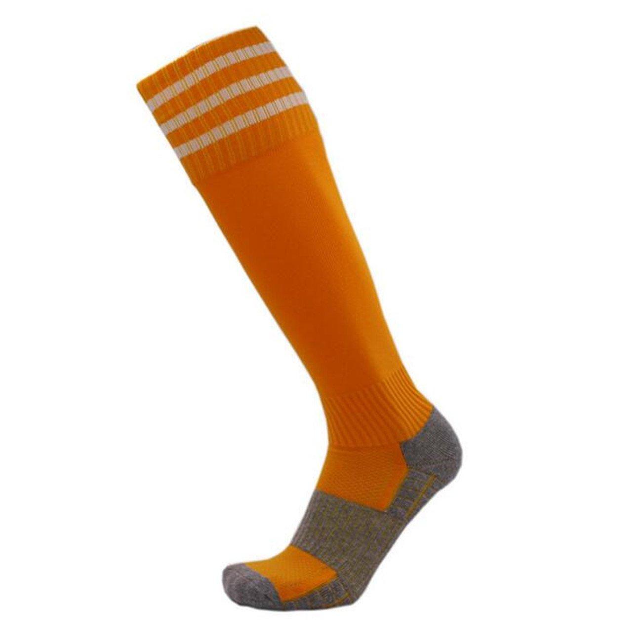 a86f468fa77 1 Paire Chaussettes Sport Hautes Chaussette de Football Chaussettes de  compression Chaussettes de Running et Bas