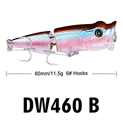 10PCS Fishing Lures Lot Crankbaits Minnow Baits Crank Bass Hooks Tackle Sinking
