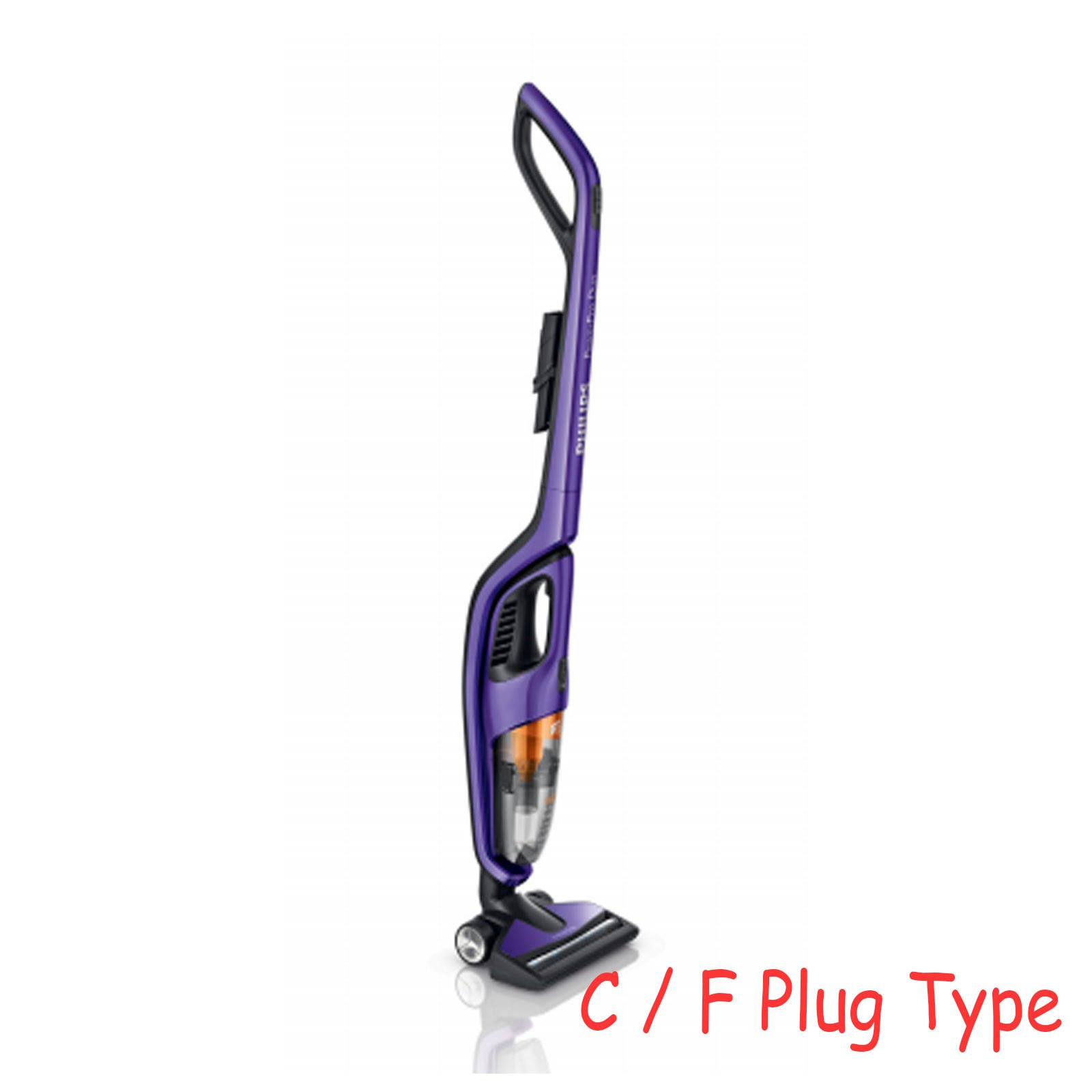 NEW Philips FC6166/01 Power Pro Duo 2-in-1 Hand Stick Cordless Vacuum Cleaner by Philips